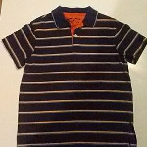 First wave 7 polo shirt stripped